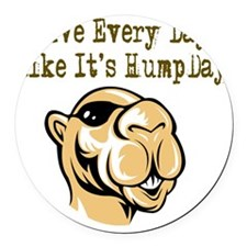 Hump Day - Lght Round Car Magnet