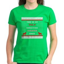 Ugly Christmas Shirt Red T-Shirt
