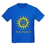 Are You Too Warm? Kids Dark T-Shirt