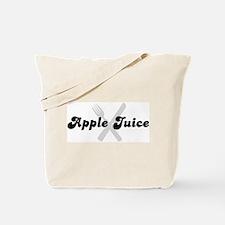 Apple Juice (fork and knife) Tote Bag