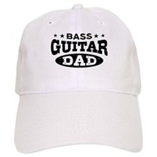 Bass Guitar Dad Baseball Cap