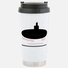 Silent service submarin Stainless Steel Travel Mug