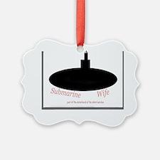 Submarine sisterhood of wives Ornament
