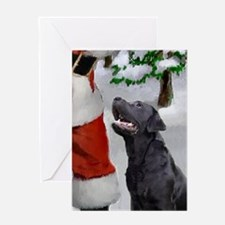 Labrador Retriever Christmas Cards (Pk of 10) Gree
