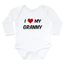 I Love My Granny Body Suit