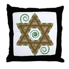 Growing Faith Throw Pillow