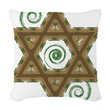 Growing Faith Woven Throw Pillow