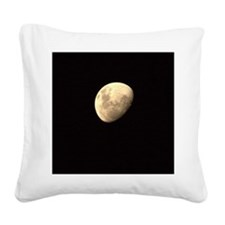 The moon Square Canvas Pillow