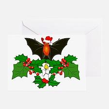 Batty Christmas Greeting Card