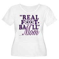 Real Football (purple) T-Shirt