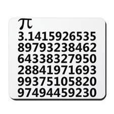 Pi - Pythagoras Mousepad