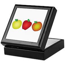 Apples Keepsake Box