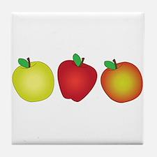 Apples Tile Coaster