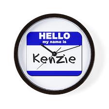 hello my name is kenzie  Wall Clock
