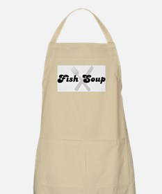 Fish Soup (fork and knife) BBQ Apron