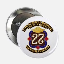 "Army - 27th Surgical Hospital 2.25"" Button"