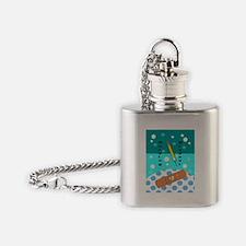 Nursing Student FF 5 Flask Necklace