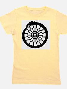 Serpentine Sun Wheel Girl's Tee