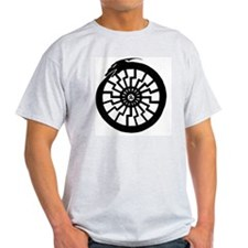 Serpentine Sun Wheel T-Shirt