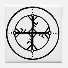 Bind Rune Tile Coaster