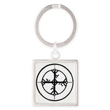 Bind Rune Square Keychain