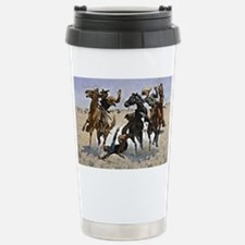 Remington cowboy art: A Travel Mug