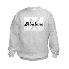 Abalone (fork and knife) Sweatshirt