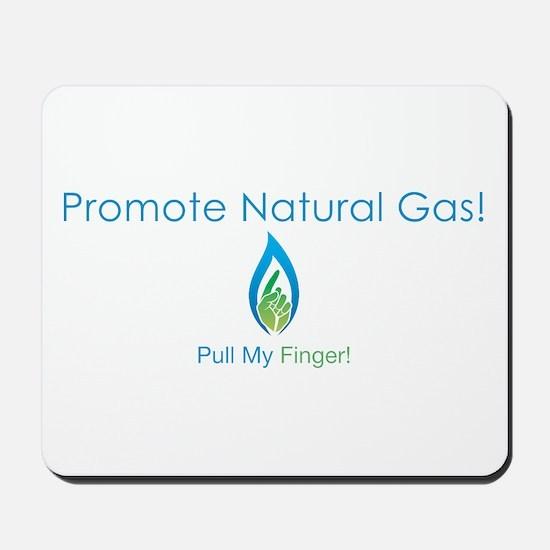Promote Natural Gas Mousepad
