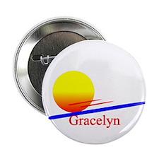 "Gracelyn 2.25"" Button (100 pack)"