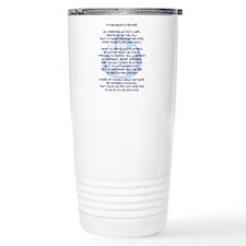 Cute Emergency responder Travel Mug