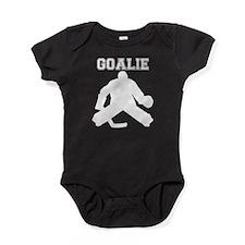 Hockey Goalie Baby Bodysuit