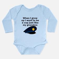 Cop Just Like My Grandma Body Suit