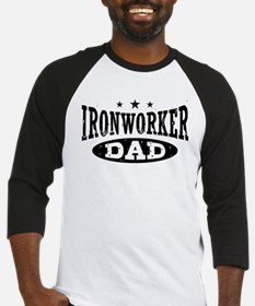 Ironworker Dad Baseball Jersey