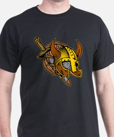 Helmet, Sword & Shield T-Shirt