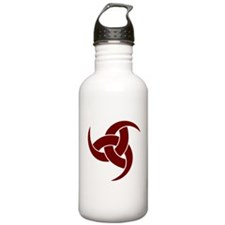triple horn of odin Red Water Bottle