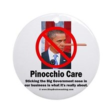Pinocchio Care 3 Ornament (Round)