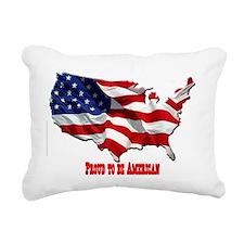 usa-logo3 Rectangular Canvas Pillow