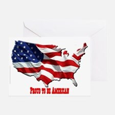 usa-logo3 Greeting Card