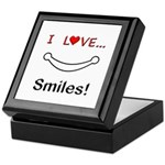 I Love Smiles Keepsake Box