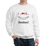 I Love Smiles Sweatshirt