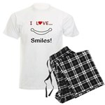 I Love Smiles Men's Light Pajamas