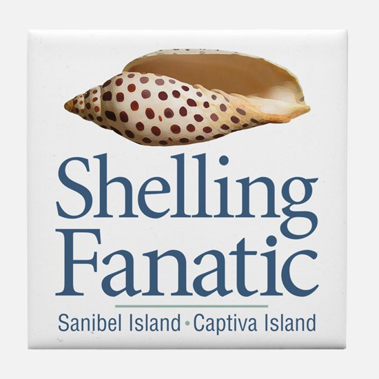 Cute Sanibel island Tile Coaster