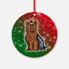 Yorkshire Terrier Ornament (round)