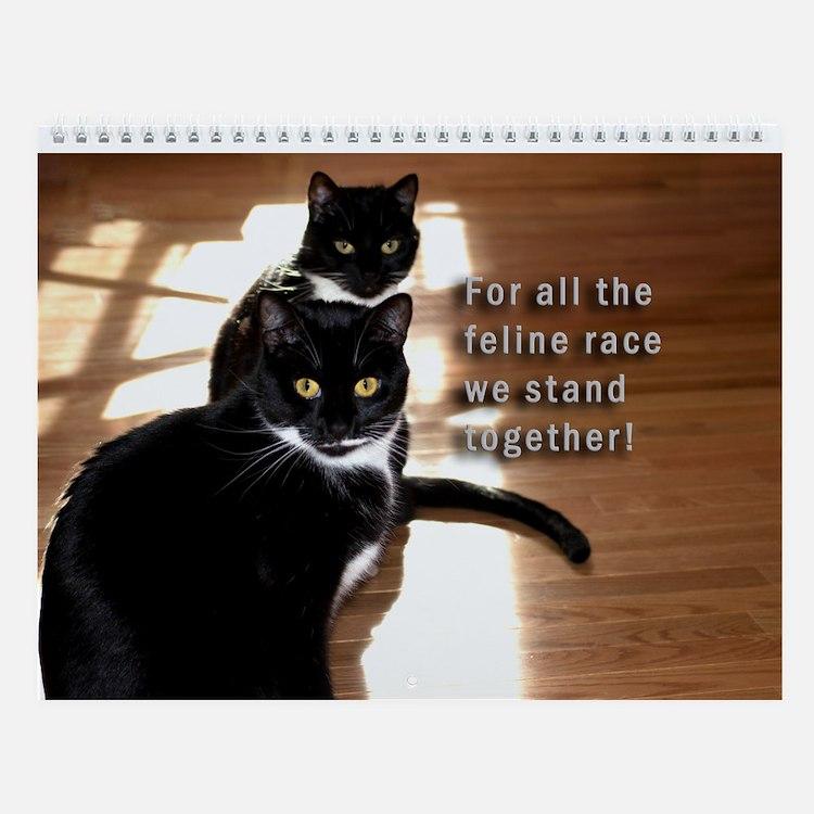 Kitties Sisters Calendar 3