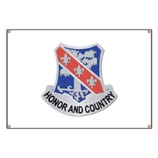 DUI - 1st Bn - 327th Infantry Regiment Banner