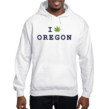 I (POT) OREGON Hooded Sweatshirt