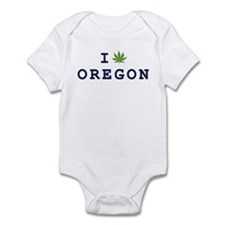I (POT) OREGON Infant Bodysuit