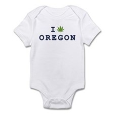 I (POT) OREGON Onesie
