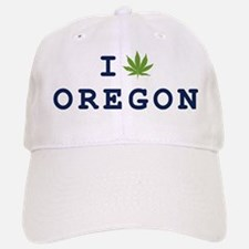 I (POT) OREGON Baseball Baseball Cap