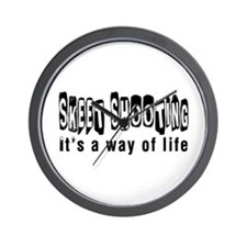 Sky diving it is a way of life Wall Clock